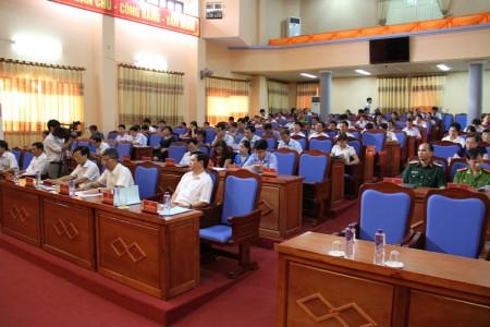 Toàn cảnh hội nghị lấy ý kiến đóng góp về dự thảo Bộ Luật Hình sự (sửa đổi).