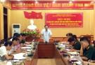 Đảng ủy quân sự huyện ra Nghị quyết lãnh đạo thực hiện nhiệm vụ Quân sự - quốc phòng và công tác xây dựng Đảng bộ 6 tháng cuối năm 2019