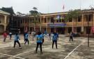 Giao lưu thi đấu TDTT mừng Đảng, mừng Xuân tại thị trấn Hùng Sơn.
