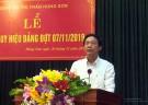 Trao tặng huy hiệu đảng tại thị trấn Hùng Sơn