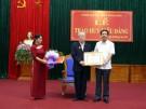 Thị trấn Hùng Sơn tổ chức Lễ trao tặng huy hiệu Đảng cho đảng viên