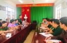 Lâm Thao chỉ đạo điểm diễn tập chiến đấu phòng thủ năm 2019
