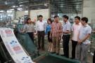 Chủ tịch UBND huyện thăm, động viên các doanh nghiệp