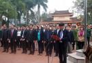 Dâng hương tưởng niệm Các anh hùng liệt sỹ dịp Tết Nguyên Đán Canh Tý 2020