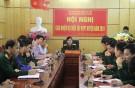 Hội nghị giao nhiệm vụ diễn tập khu vực phòng thủ huyện năm 2019
