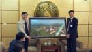 Huyện Đình Lập, tỉnh Lạng Sơn thăm quan, học tập kinh nghiệm xây dựng nông thôn mới tại huyện Lâm Thao.