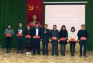 Lâm Thao: Bế giảng lớp bồi dưỡng lý luận chính trị dành cho đối tượng kết nạp Đảng khóa I năm 2019