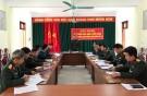 Lâm Thao: tổ chức hiệp đồng giao, nhận, tuyển chọn và gọi công dân nhập ngũ năm 2018