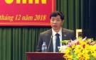 Phát biểu của Chủ tịch UBND huyện Trần Hoài Giang tại Kỳ họp thứ Chín- HĐND huyện khóa XVIII