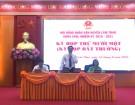 HĐND huyện Lâm Thao khóa XVIII tổ chức kỳ họp thứ Mười một (kỳ họp bất thường)