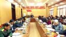 Hội nghị UB MTTQ huyện khóa XXIV, nhiệm kỳ 2014-2019