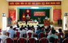 Họp HĐND các xã Kinh Kệ ,  Sơn Dương và Hợp Hải