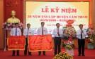 Huyện Lâm Thao: Kỷ niệm 20 năm tái lập và đón nhận Cờ thi đua của Chính phủ