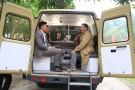 Agribank Lâm Thao mở điểm giao dịch lưu động bằng xe ô tô chuyên dùng