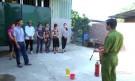 Lâm Thao: Diễn tập Phòng cháy Chữa cháy tại chỗ tại xã Sơn Vi