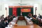 Đảng ủy quân sự huyện Lâm Thao ra Nghị quyết lãnh đạo thực hiện nhiệm vụ Quân sự - quốc phòng và công tác xây dựng Đảng bộ năm 2018