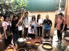 Đoàn sinh viên Báo chí K37 khoa PT-TH, Học viện Báo chí và tuyên truyền đi thực tế tại huyện Lâm Thao