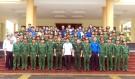 Lãnh đạo huyện Lâm Thao tổ chức đi thăm, gặp mặt, động viên tân binh nhập ngũ năm 2019