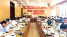 Hội nghị đánh giá kết quả công tác chuẩn bị và triển khai diễn tập khu vực phòng thủ huyện năm 2019