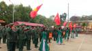 Lâm Thao tổ chức Lễ giao nhận quân trang nghiêm, an toàn