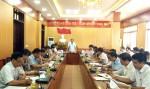 Họp BCĐ thực hiện sắp xếp các đơn vị hành chính cấp xã trên địa bàn huyện Lâm Thao giai đoạn 2019-2021