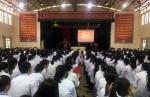 Trường THPT Long Châu Sa: Tuyên truyền pháp luật ATGT cho học sinh