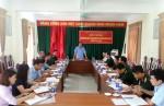 Đảng bộ Quân sự huyện kiểm điểm giữa nhiệm kỳ thực hiện Nghị quyết Đại hội Đảng bộ, nhiệm kỳ (2015 - 2020).