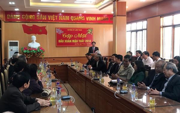 Lâm Thao: Gặp mặt đầu xuân Mậu Tuất 2018