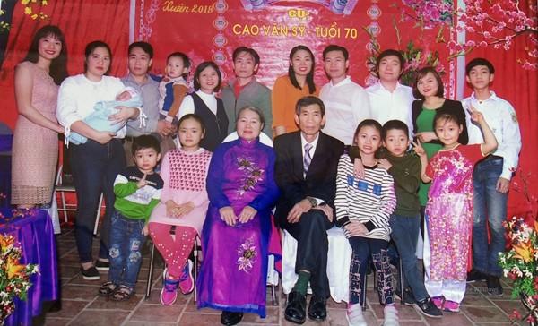 Tấm gương gia đình văn hóa tiêu biểu ở Lâm Thao