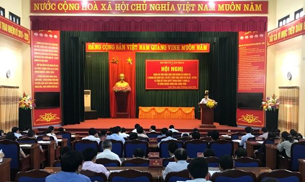 Hội nghị Ban chấp hành Đảng bộ huyện