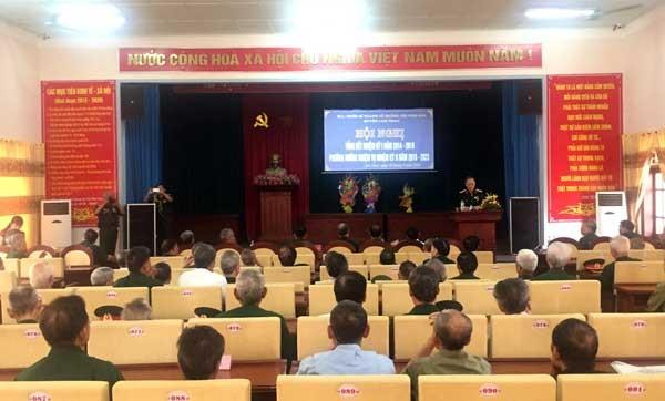 Ban liên lạc Hội chiến sĩ thành cổ Quảng Trị năm 1972 huyện Lâm Thao tổng kết công tác nhiệm kỳ I năm 2014 – 2018 và triển khai phương hướng nhiệm vụ nhiệm kỳ II năm 2018- 2023