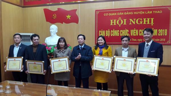 Hội nghị cán bộ công chức, viên chức lao động cơ quan Dân Đảng năm 2018