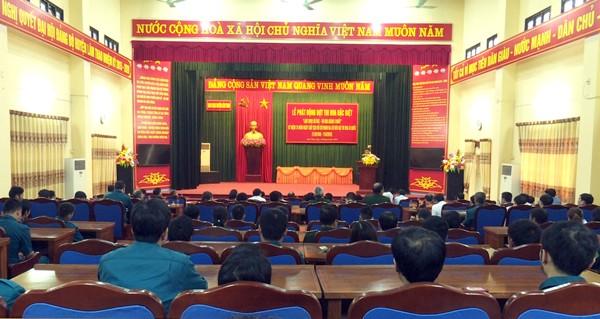 Lâm Thao: Phát động đợt thi đua đặc biệt chào mừng kỷ niệm 70 năm ngày Chủ tịch Hồ Chí Minh ra lời kêu gọi thi đua ái quốc